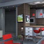 Esempio progetto ristrutturazione appartamento: living 30mq