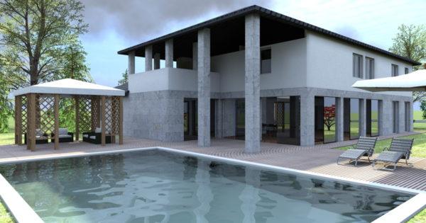 Progetto villa in puglia for Progetto villa moderna