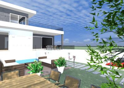 Villa - stile Moderno