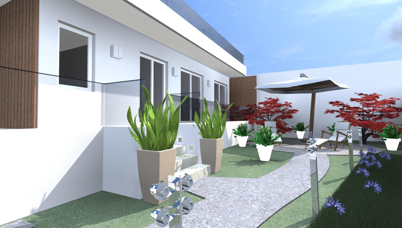 Esempi di progetti 3d di costruzione architettiamo for Villa moderna