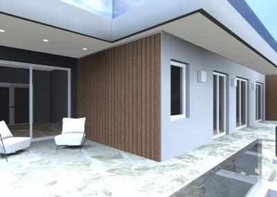 Villa Moderna con terrazza privata