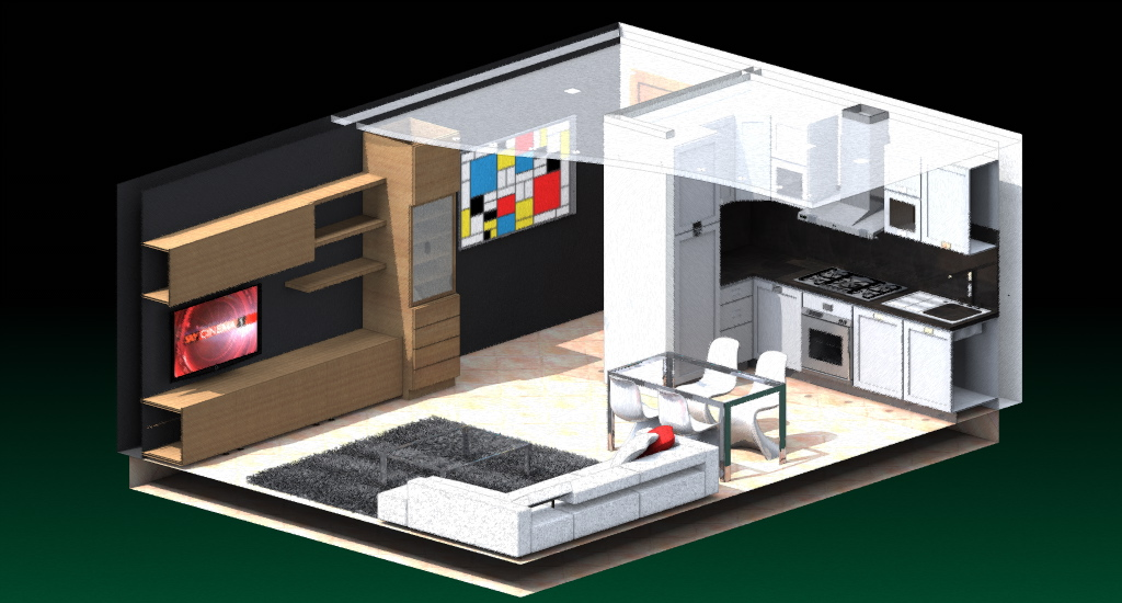 Esempi progetti per costruire ristrutturare e arredare for Arredare casa in 3d gratis