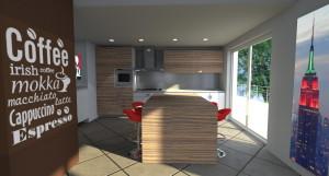Esempio progetto ristrutturazione cucina 1