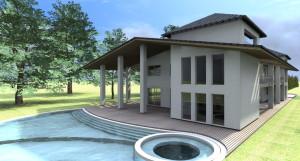 Esempio progetto on-line villa con piscina1