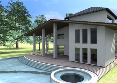 Esempi progetti online per costruire ristrutturare arredare - Progetto villa con piscina ...