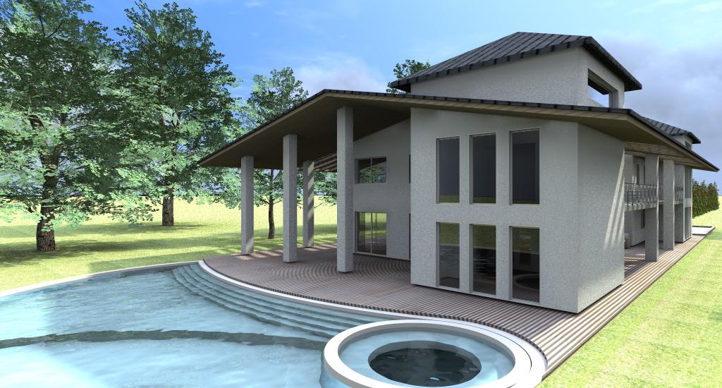 Esempi progetti on line per costruire ristrutturare arredare - Progetto di casa moderna ...