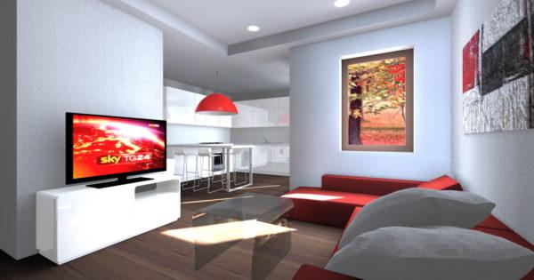 Appartamento confortevole e luminoso architettiamo for Creare progetti online