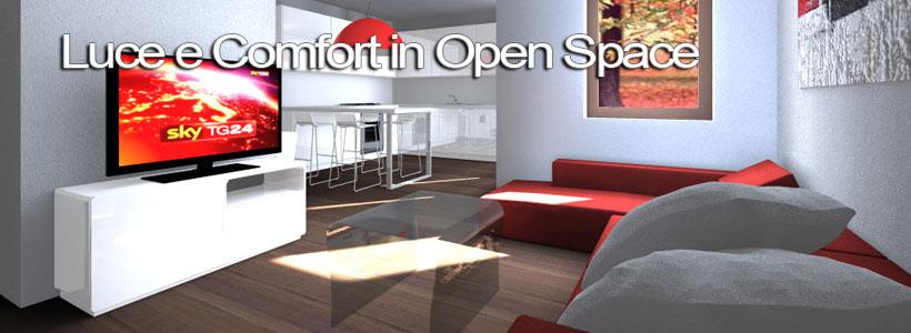 Appartamento confortevole e luminoso esempio di progetto Esempi di ristrutturazione appartamento
