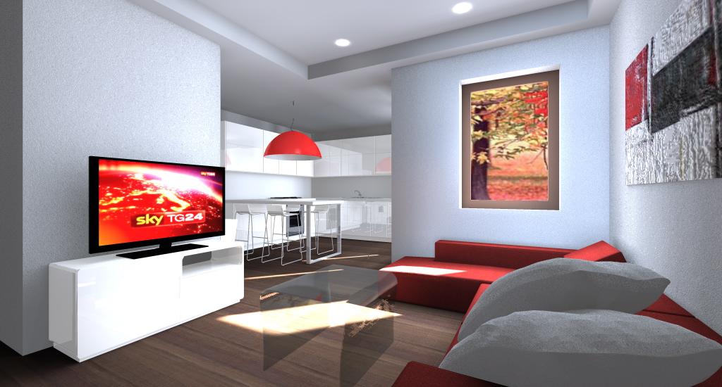 Appartamento confortevole e luminoso: esempio di Progetto ...