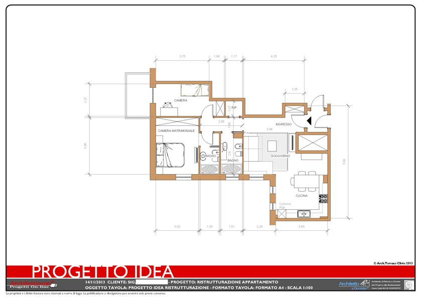 Progetto-idea: una rapida idea di progetto per progettare casa