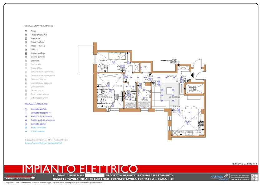 Impianto elettrico casa schema interesting impianto for Schema impianto elettrico casa