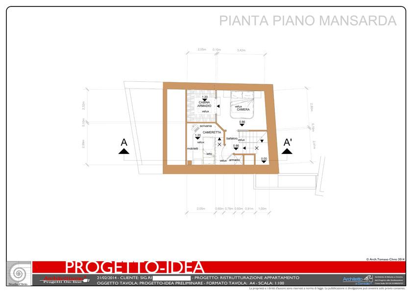 Progetto Idea Mansarda