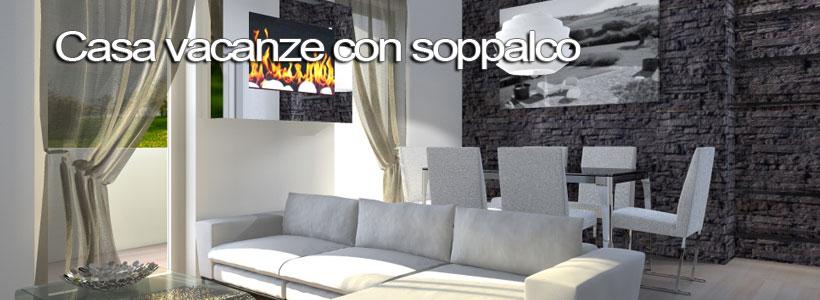 Casa vacanza con soppalco esempio di progetto online - Cucina con soppalco ...
