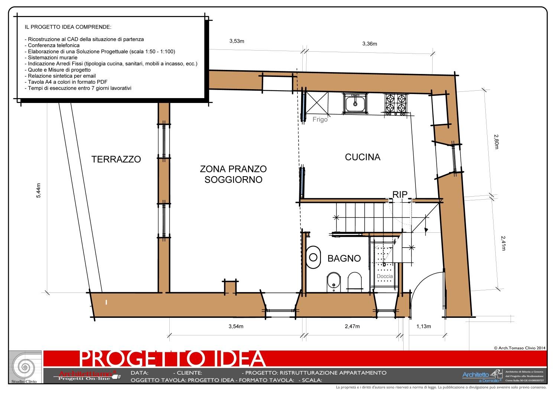 Progetto idea ristrutturazione for Arredamento 3d online