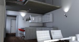 Zona Living in Open Space