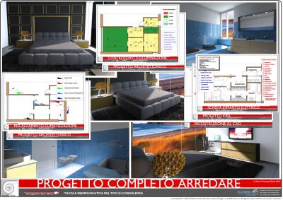 Progetti rapidi ed economici interior design arredare for Arredamento appartamento completo