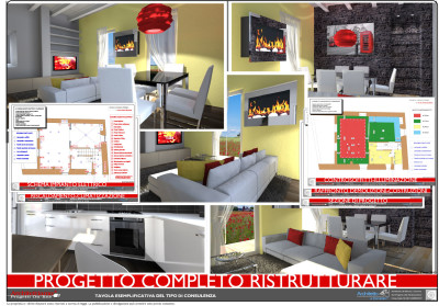 Esempi progetti on line per costruire ristrutturare arredare for Progetti in 3d gratis