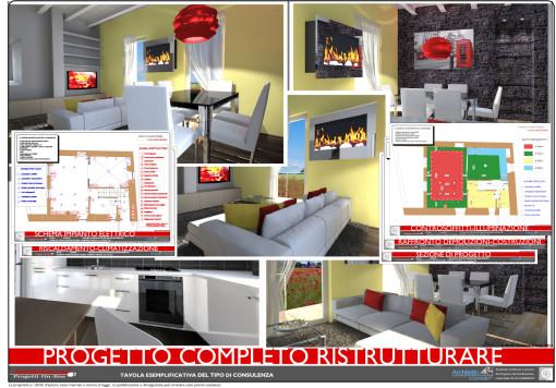 Progetto completo ristrutturazione for Ristrutturare casa progetti