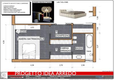 Progetto idea arredamento for Idea arredo