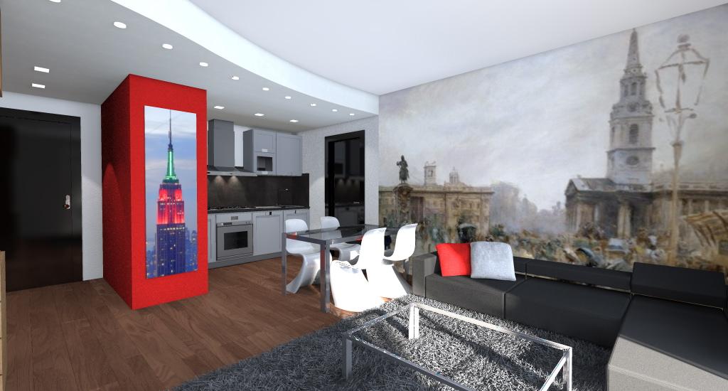 Esempi di arredamento moderno for Esempi di arredamento interni