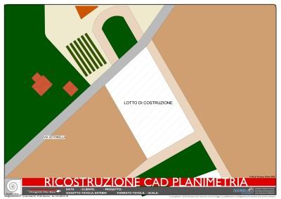 RICOSTRUZIONE CAD PLANIMETRIA