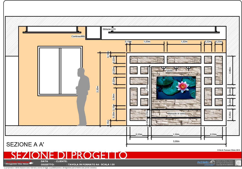 Progetto 2D Arredamento