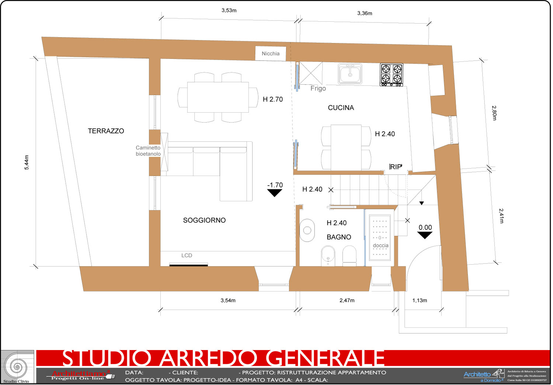 Studio d 39 arredo generale architettiamo progetti online - Tavola valdese progetti approvati 2015 ...
