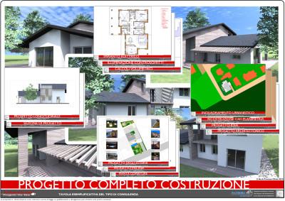Villa nel verde esempio di progetto online for Giochi di costruzione di case 3d online