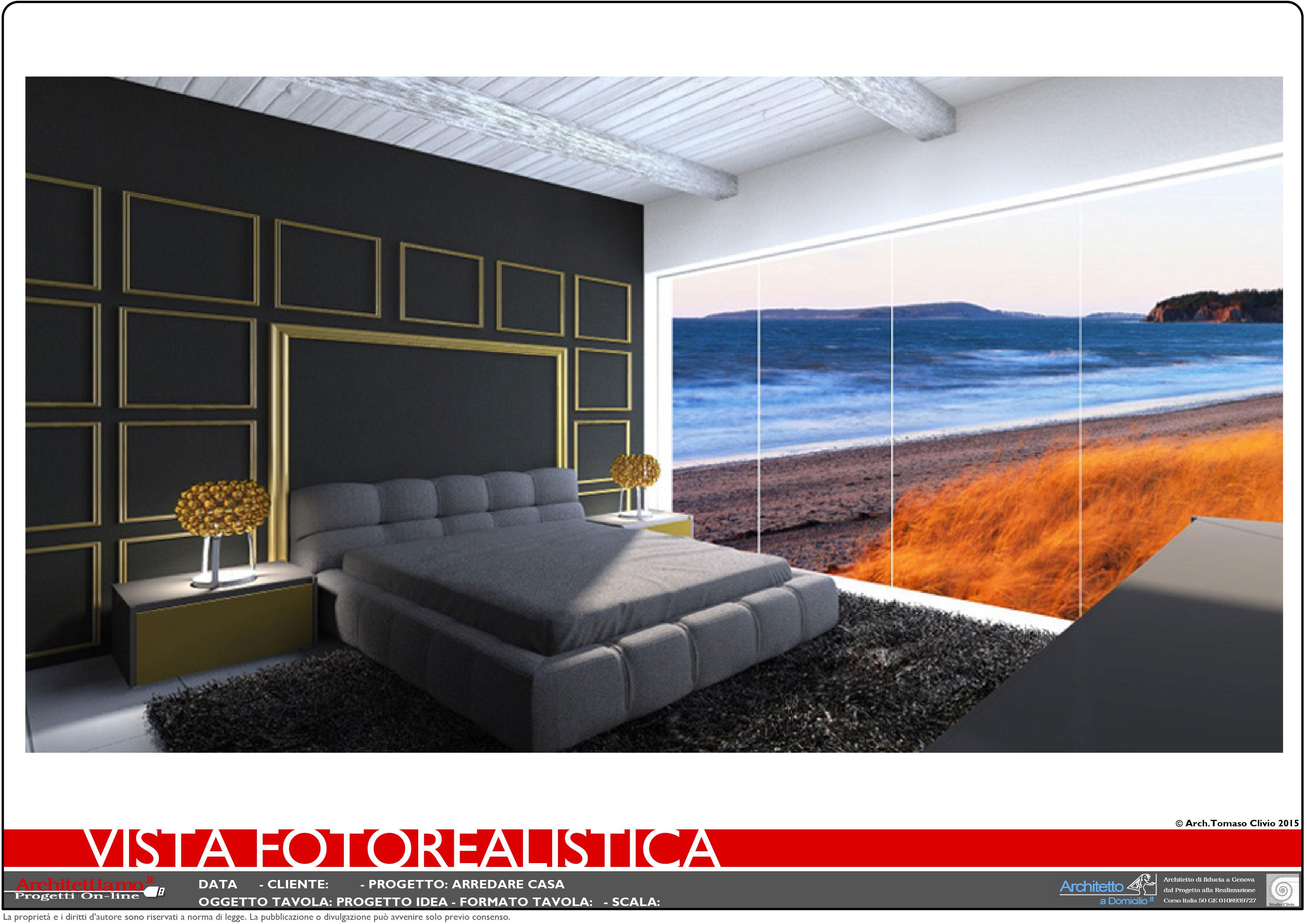 Progetto 3d arredamento casa esempi di progetti e for Esempi di arredamento