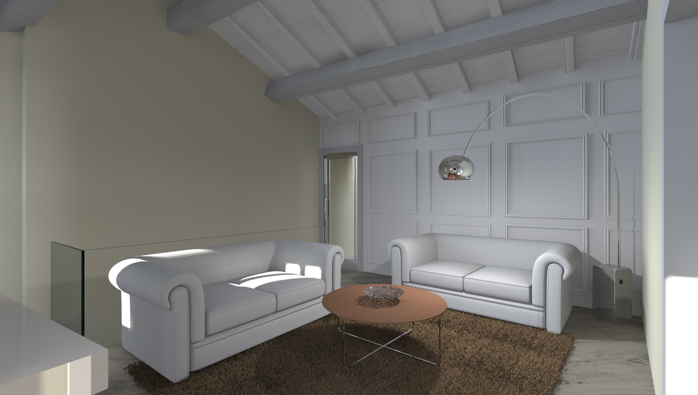 Esempi di progetti 3d di arredare architettiamo progetti for Esempi di pareti colorate