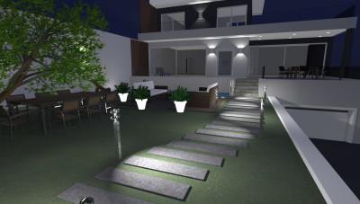 Architettiamo i migliori progetti on line dal 2006 for Piani casa moderna collina