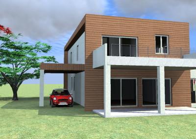 Casa Moderna Cubica