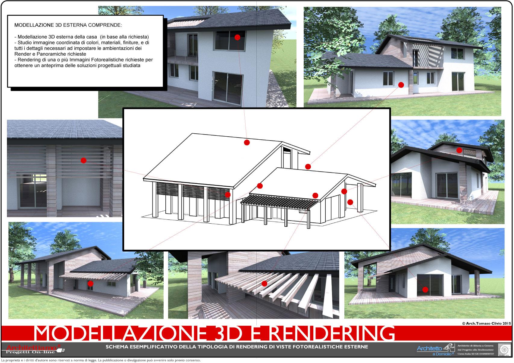 Progetto 3d costruzione dall 39 idea di progetto al progetto 3d for Progetto arredamento online