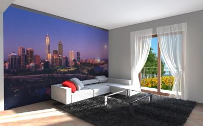 Zona Living con grafica New York