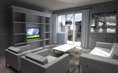 Zona Living con divano e poltrone