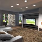 Progettazione interni per parete-attrezzata-tv