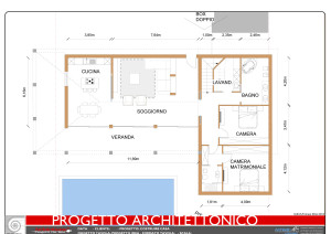 Progetto 2D Costruzione Casa