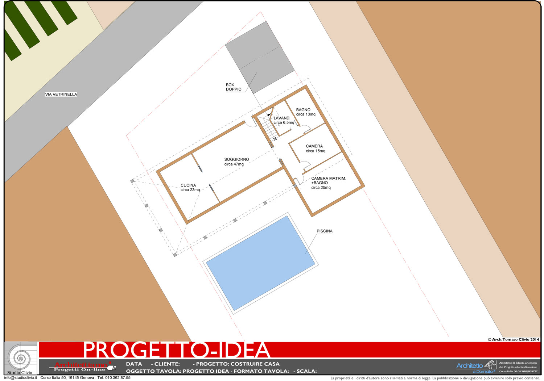 Progetto idea casa un idea di progetto speciale per la for Costruire un ranch a casa