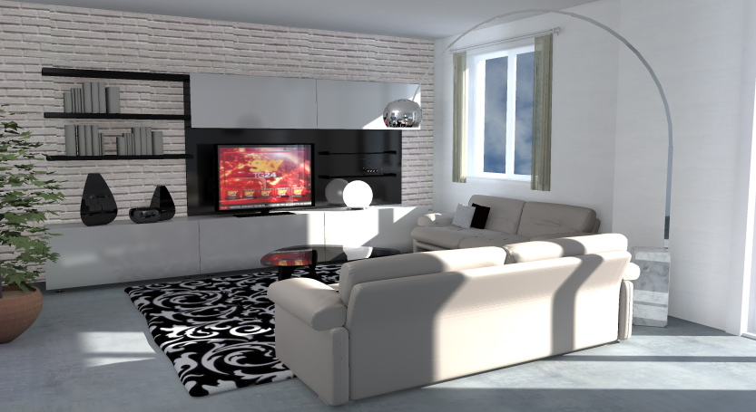 Esempi di Progetti 3D di Arredare - Architettiamo Progetti ...
