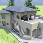 Villa a due piani