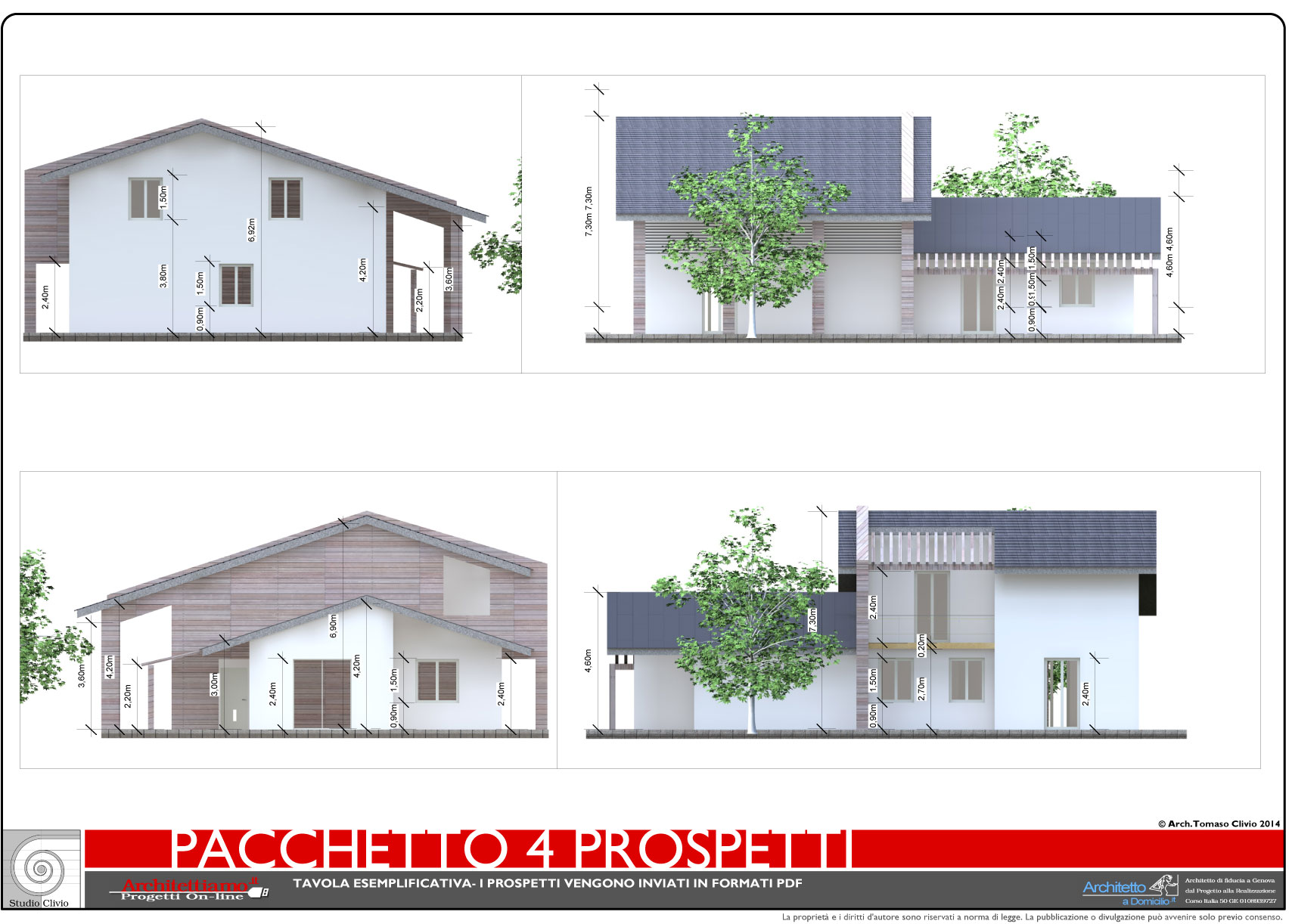 esempi di disegni e progetti di costruzione