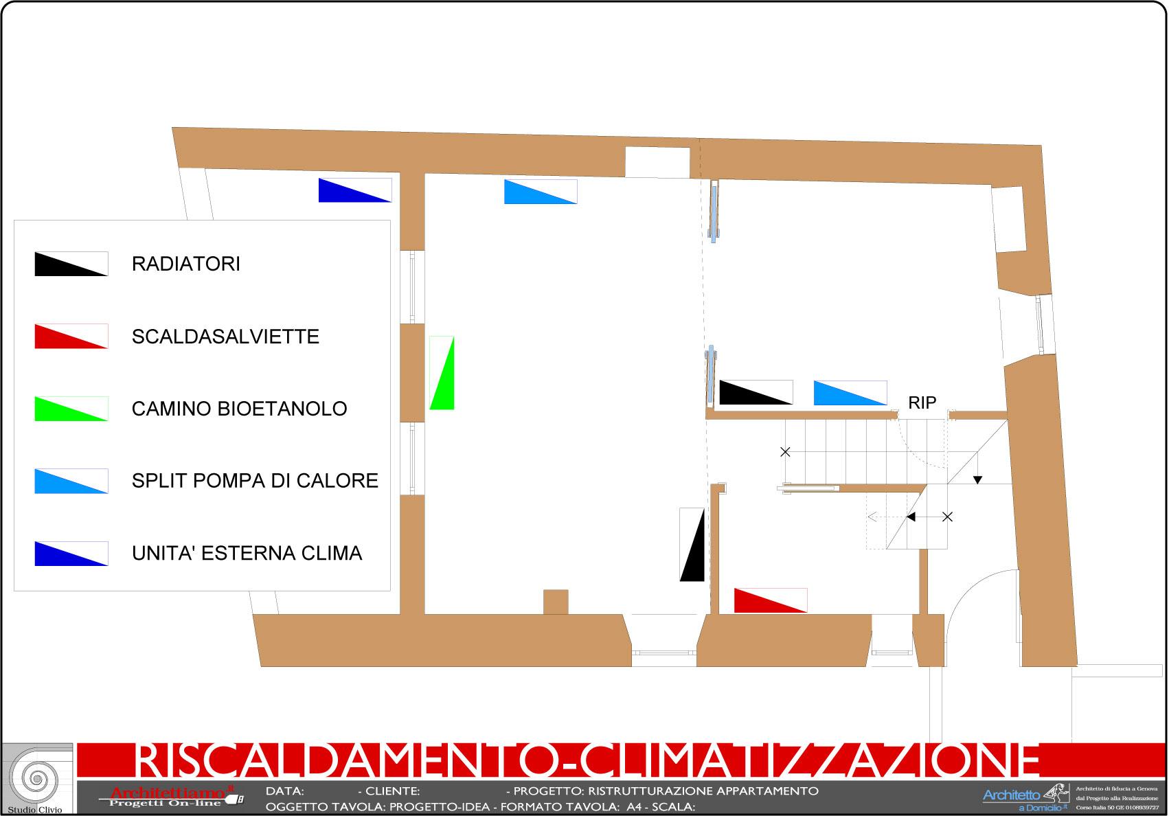 Schema impianto riscaldamento climatizzazione for Giochi di costruzione di case 3d online