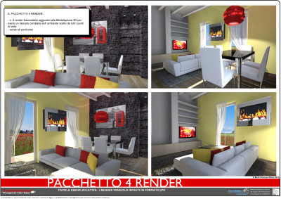 Render 3d arredare casa archivi architettiamo progetti for Arredare online 3d