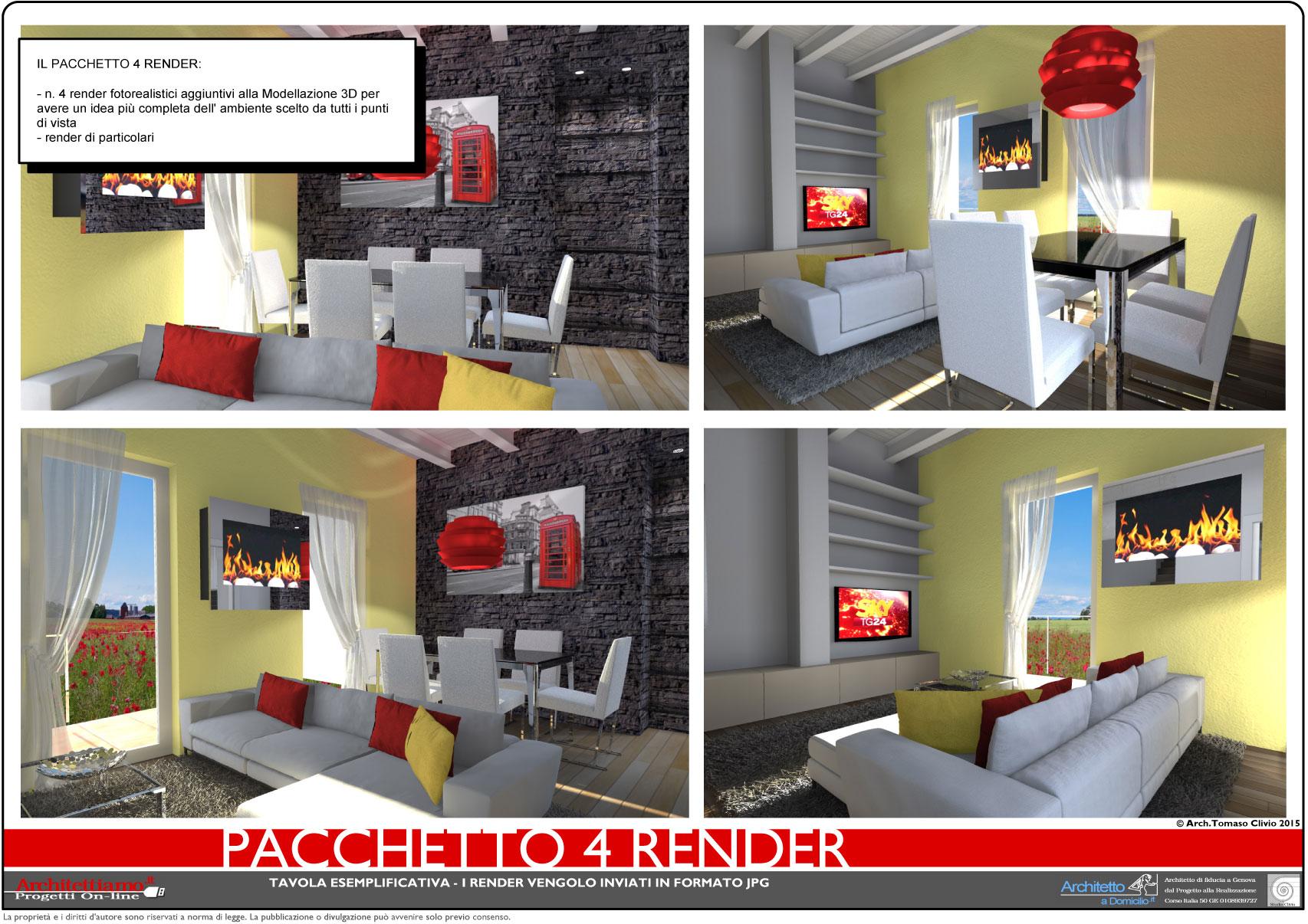 Pacchetto 4 Render
