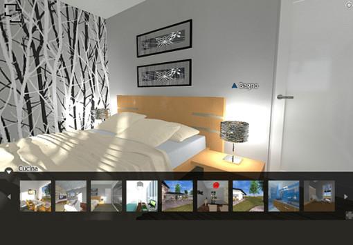 Panoramica 3d architettiamo progetti online for Casa 3d online