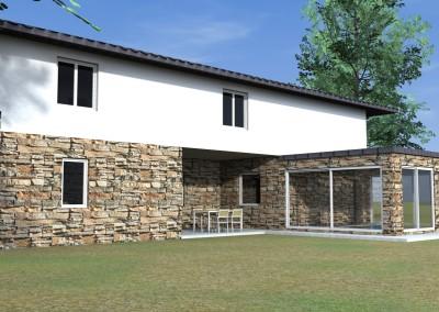 Villa pietra e muratura