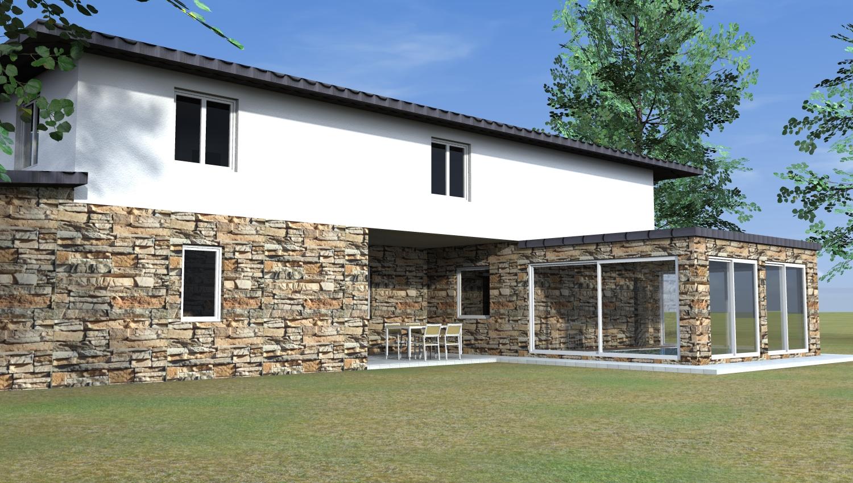 Esempi di progetti 3d di costruzione architettiamo for Piccoli piani di costruzione casa