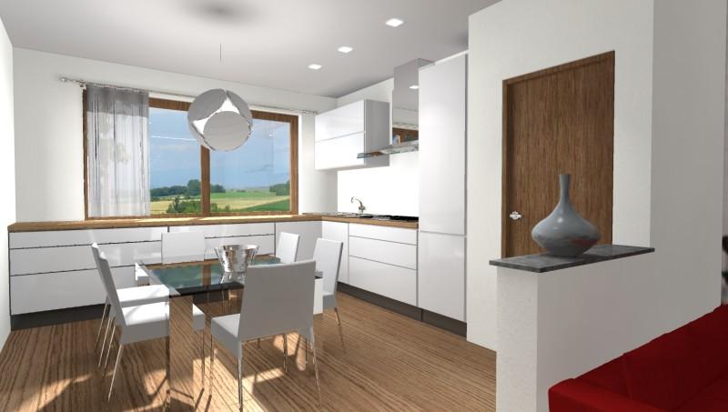 Esempi di progetti 3d di arredare architettiamo progetti for Arredare casa bianco e beige