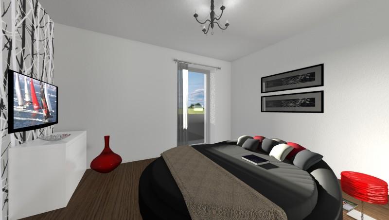 Camera Da Letto Stile Moderno Con Letto Circolare Interior Design : Camera da letto stile moderno con circolare interior