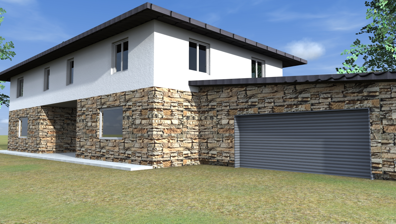 Progetti 3d costruzione esempi di progetti online di nuove costruzioni - Colori case esterni ...